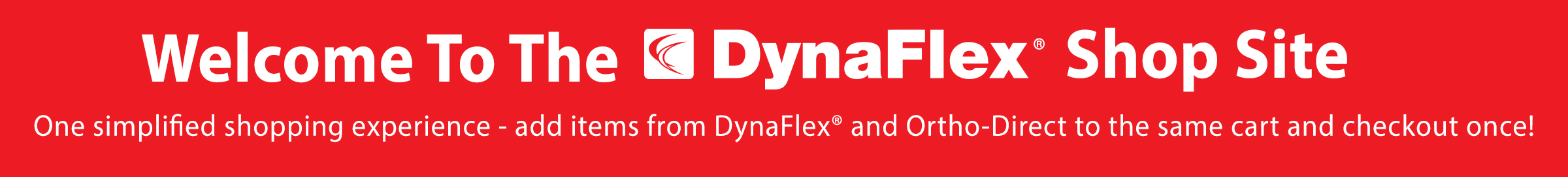 Welcome To the DynaFlex Shop Site