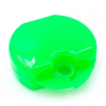 DYNAFLEX PLAIN RETAINER CASES, Neon Green