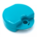 DYNAFLEX SCENTED RETAINER CASES,  Teal/Tutti Fruitti