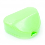 DYNAFLEX FLIP TOP RETAINER CASES, Neon Green