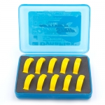 QWIKSTRIPS IPR <BR> DOUBLE SIDED <BR>REFILLS 10PK, SUPER FINE, YELLOW