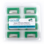 CONTACEZ IPR REFILL - .20MM, EXTRA WIDENER, DOUBLE SIDED, COARSE, INDIVIDUAL REFILL STRIP, GREEN