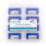 CONTACEZ IPR, .15MM, WIDENER, DOUBLE SIDED, COARSE, INDIVIDUAL REFILL STRIP, DARK BLUE