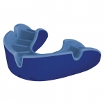 "OPRO SELF FIT MOUTHGUARDS <BR> ""SILVER"" (NO BRACES), ADULT, BLUE/LIGHT BLUE"