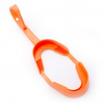 ORTHODONTIC MOUTHGUARDS - ADULT W/ STRAP, ORANGE