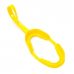 ORTHODONTIC MOUTHGUARDS - ADULT W/ STRAP, YELLOW