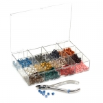 DYNAFLEX® INSTRUMENT CODE RING KIT, Organizer Kit, 50 of each color