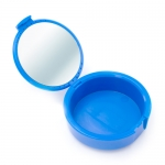MIRA CASE RETAINER CASES W/MIRROR, Blue