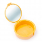 MIRA CASE RETAINER CASES W/MIRROR, Tangerine