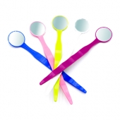 DYNAFLEX COLORED DISPOSABLE MOUTH MIRRORS