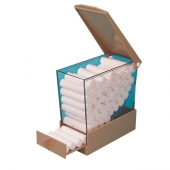 DELUX COTTON ROLL DISPENSER
