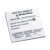 NICKEL - FREE BETA III CAN <BR> MUSHROOM LOOPED WIRE <BR> 10 PACK